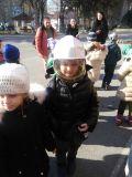 """Посещение на Районна служба """" Пожарна безопасност и защита на населението """"  - ДГ 18 Пчелица - Казанлък"""